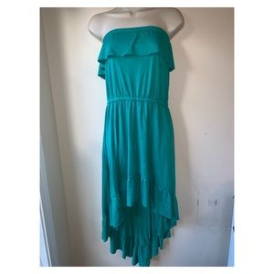 Xhilaration | summer Ruffled High low dress sz XL